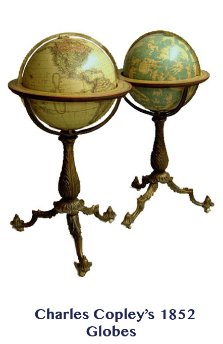 copley's terrestrial & celestial globes  - greaves and thomas make a diverse range of terrestrial globes, globes of the world, world globe, world globes, celestial globes, planetry globes, lunar globes, customised globes, customised world globes, customised globes of the world, paper globes, replica globes,